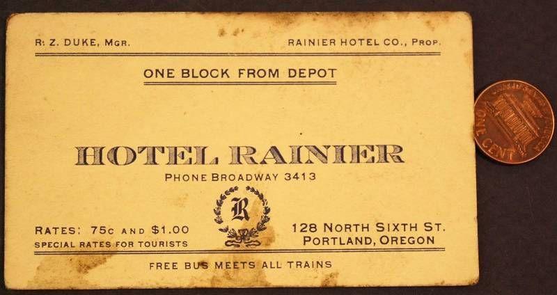 Ranier hotel