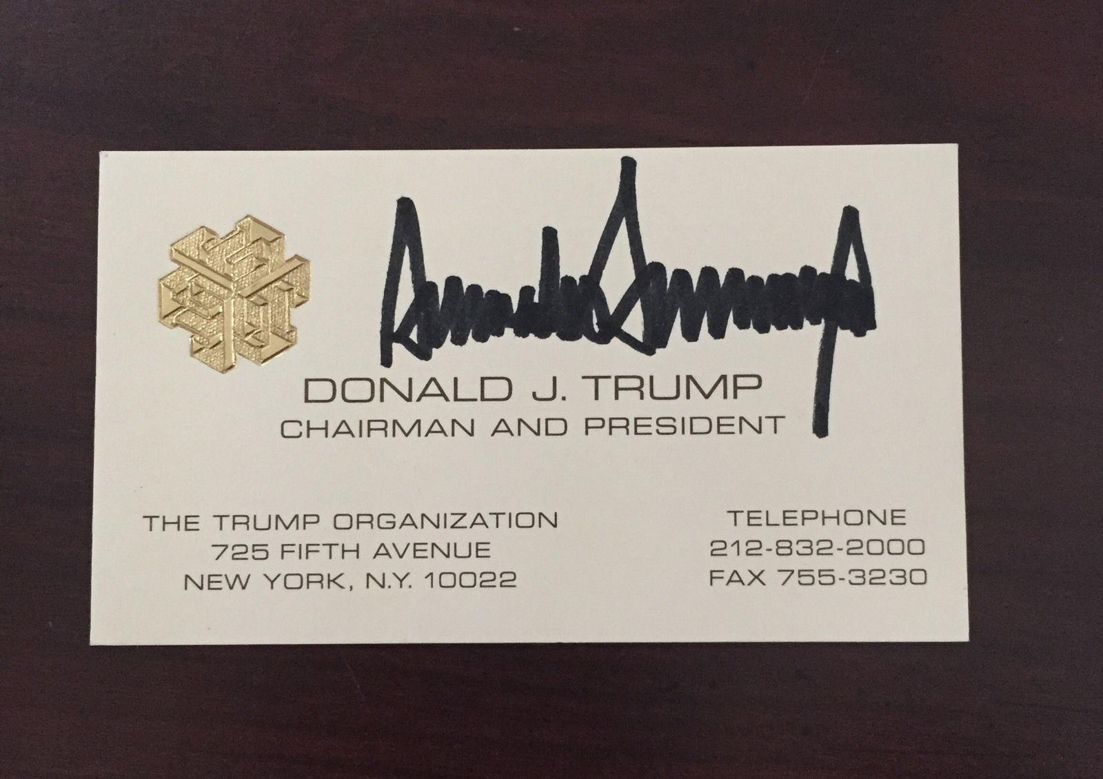 Donald trump business card for sale whereismyvotefo trump auto 5 colourmoves