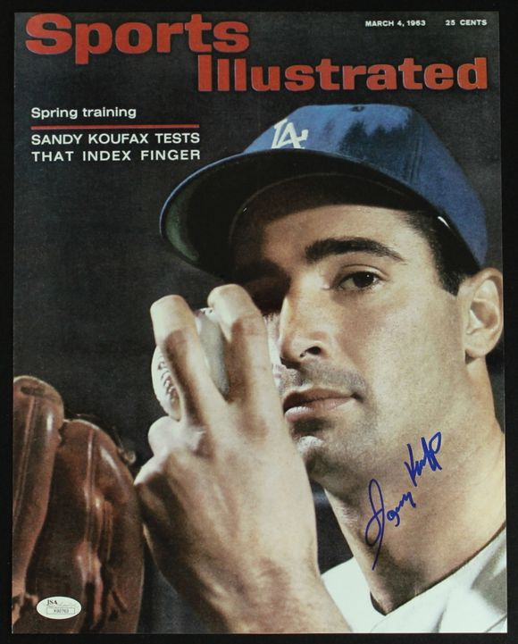 SANDY KOUFAX IS 80 TODAY