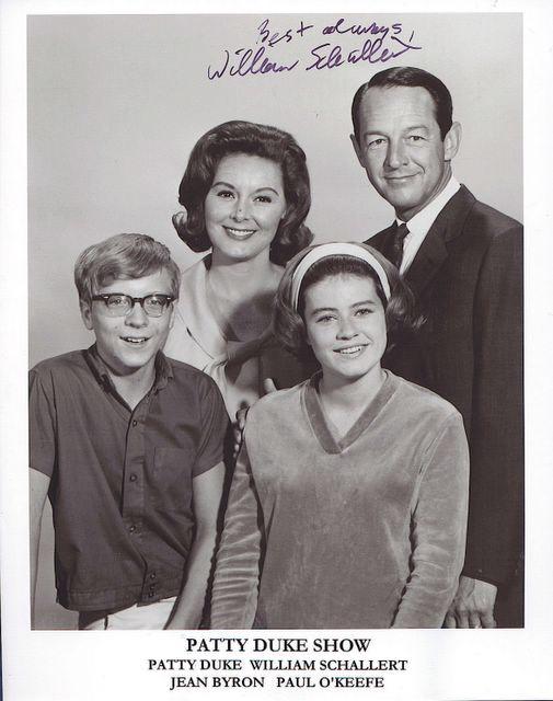 PATTY DUKE'S TV DAD HAS DIED