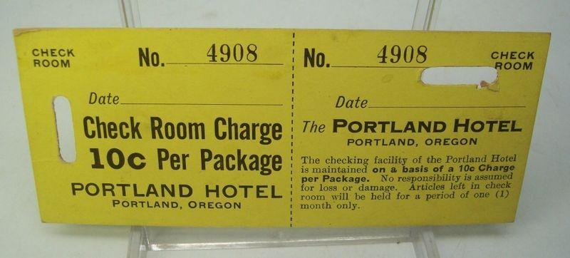 Port motel baggage