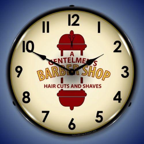 BARBER GENT CLOCK