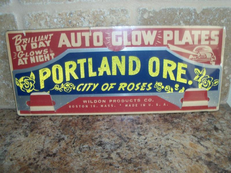 Auto glow plates
