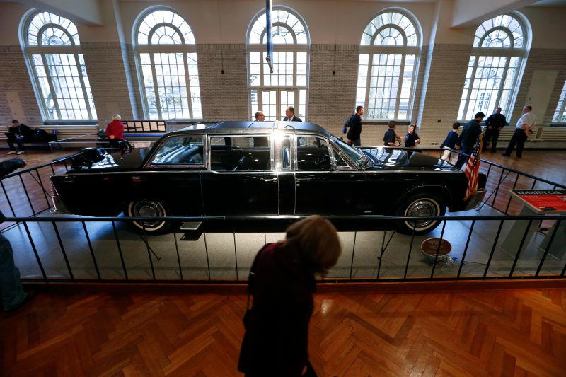 Kennedy car retired