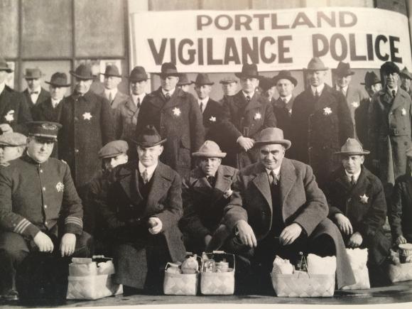 PORTLAND VIGILANCE POLICE