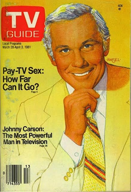 JOHNNY TV GUIDE  1981