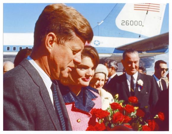 JFK DYED HIS HAIR