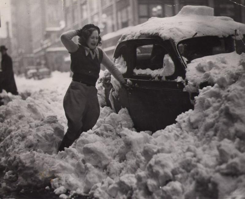 PORTLAND SNOW 1937