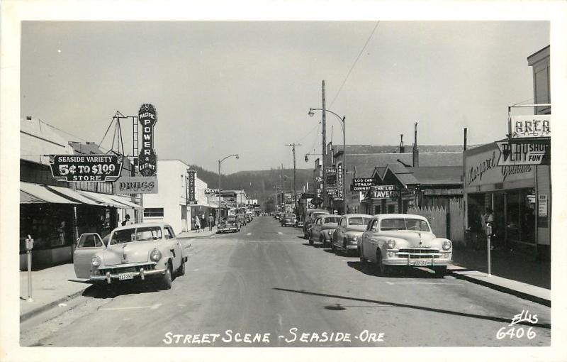 SEASIDE STREET SCENE 2
