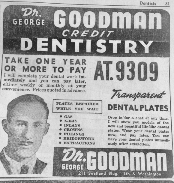 EZ CREDIT FROM DR. GOODMAN