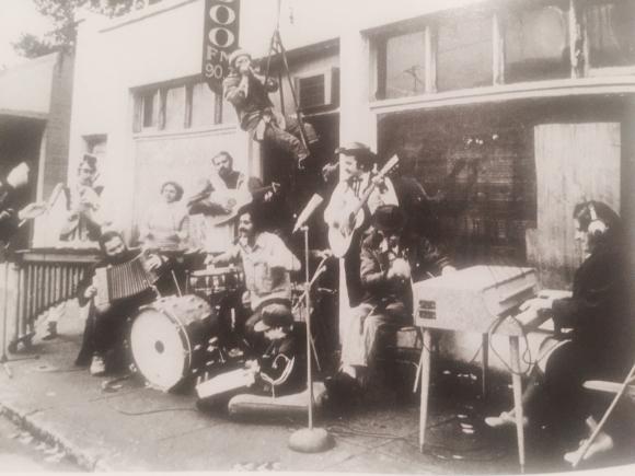 OUTSIDE KBOO STUDIOS IN 76 ON BELMONT