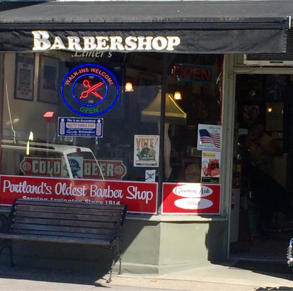 OLDEST BARBER SHOP IN PORTLAND