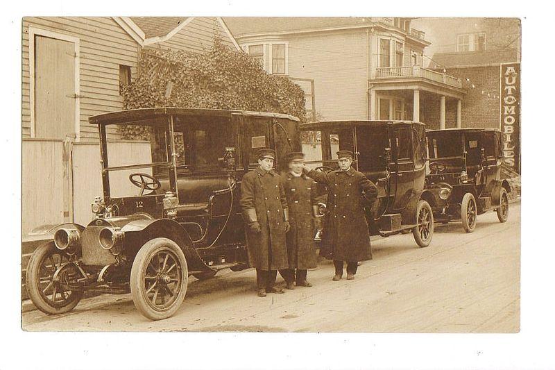 Portland taxi 1909
