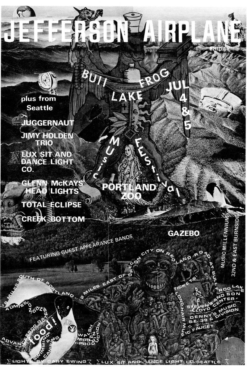 Bullfrog poster