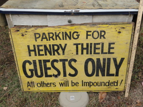 Henry sign