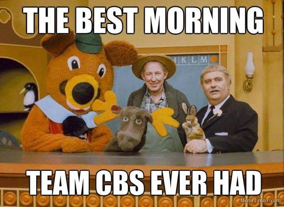 LAST GREAT MORNING TEAM ON CBS