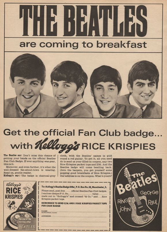 FAB FOUR FOR BREAKFAST......