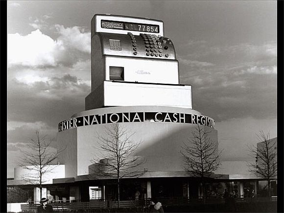 NATIONAL CASH REGISTER BUILDING AT THE 1939 WORLD'S FAIR IN NEW YORK