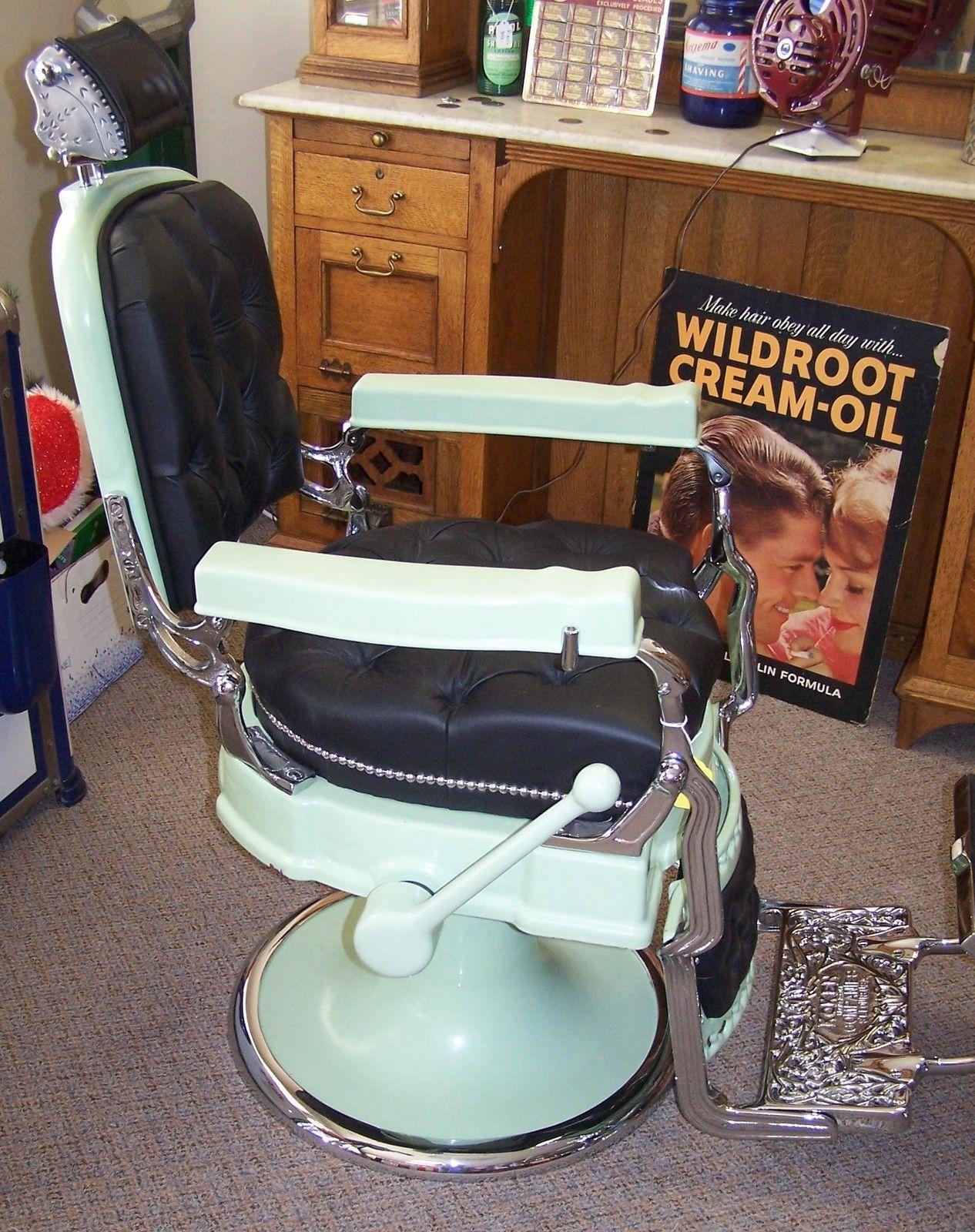 Vintage Barber Shops Barber Chairs