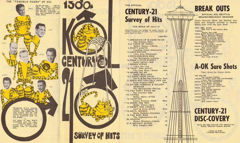 Kol-radio-survey-seattle-07-27-62-the-terrible-tigers-of-kol