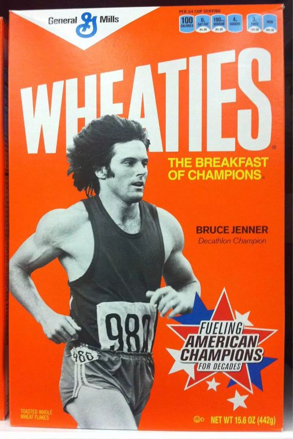 BIGGEST SELLING WHEATIES BOX