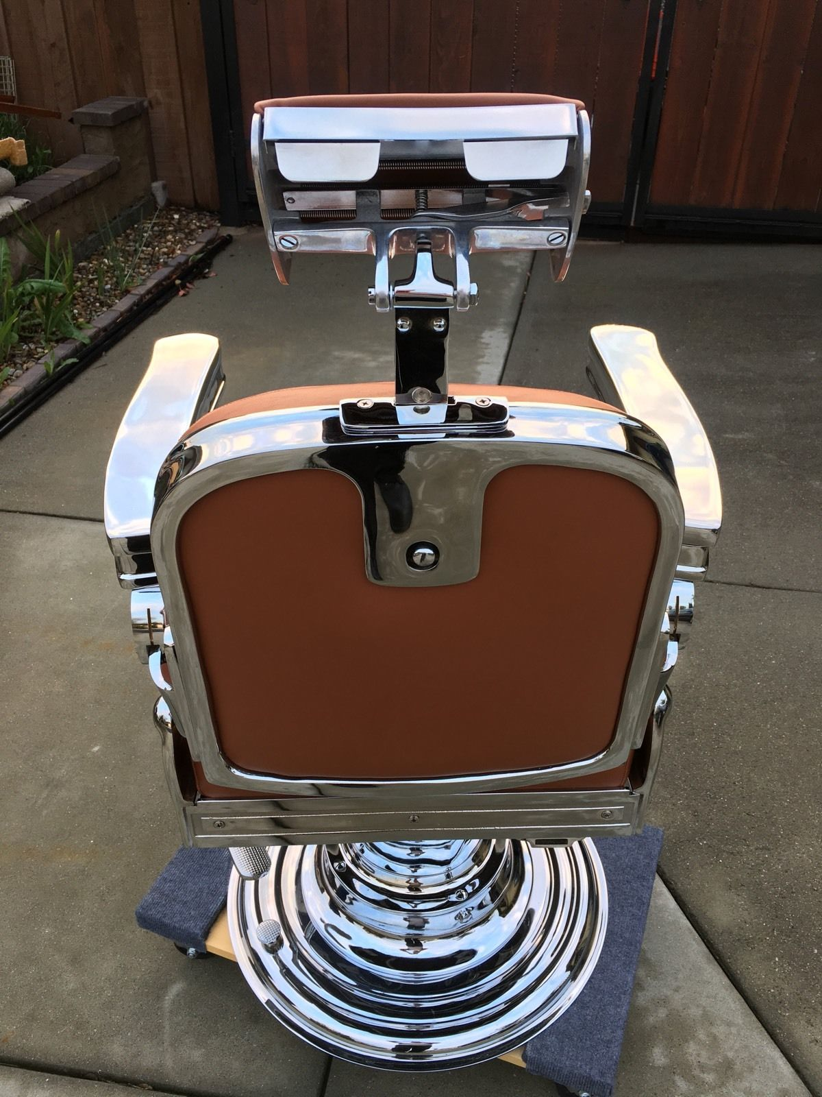 Vintage barber shop chairs - Reliance Reliance Barber 2