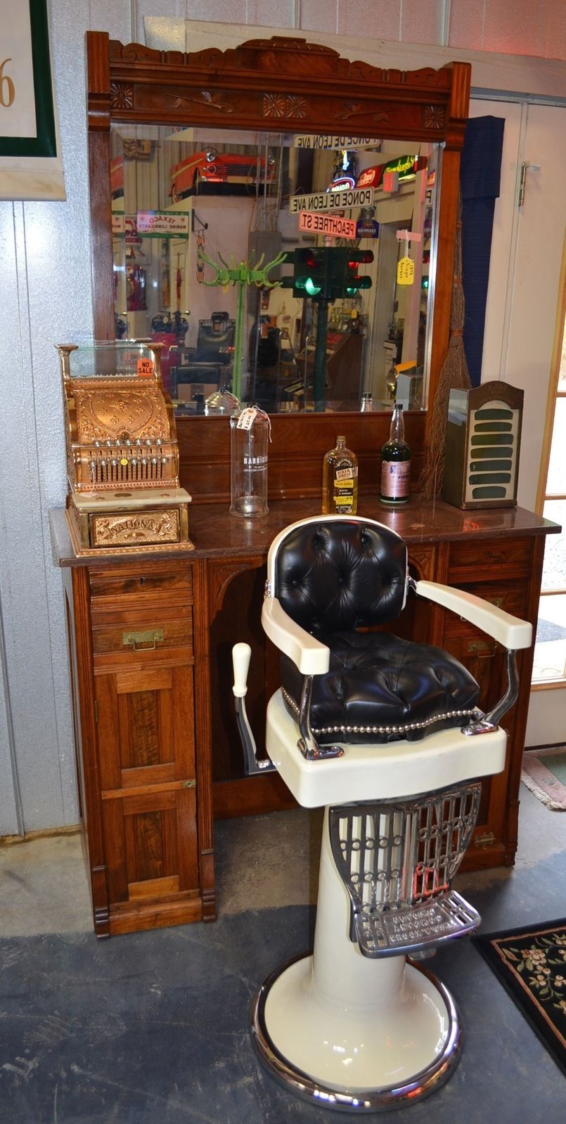 Vintage barber shop chairs - Kids9
