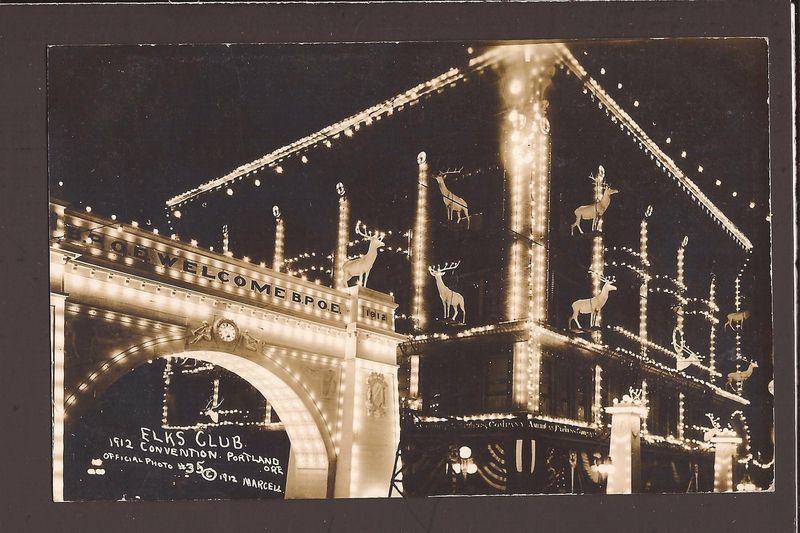 Elks club 1912