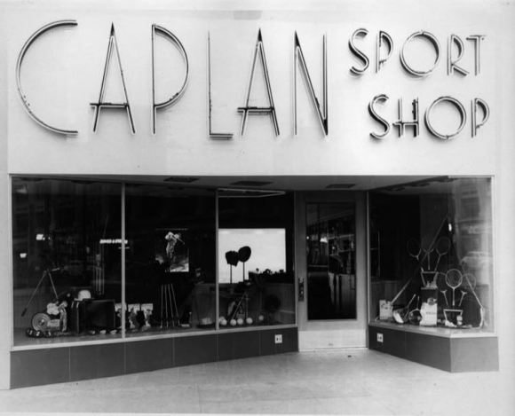WHERE WE BOUGHT OUR FIRST GLOVE AND CHUCK TAYLOR'S