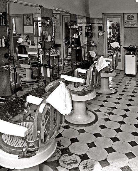 Vintage Barber Shops June 2016