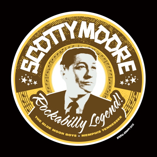 THE GREAT SCOTTY MOORE IS DEAD