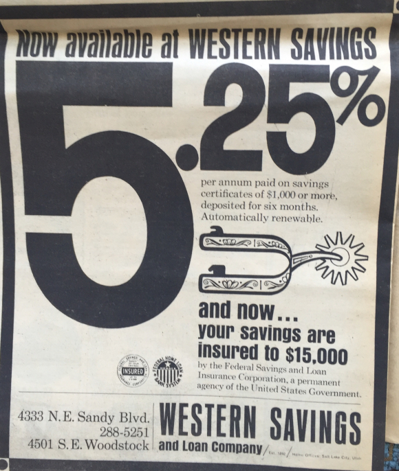 AD FROM 1966