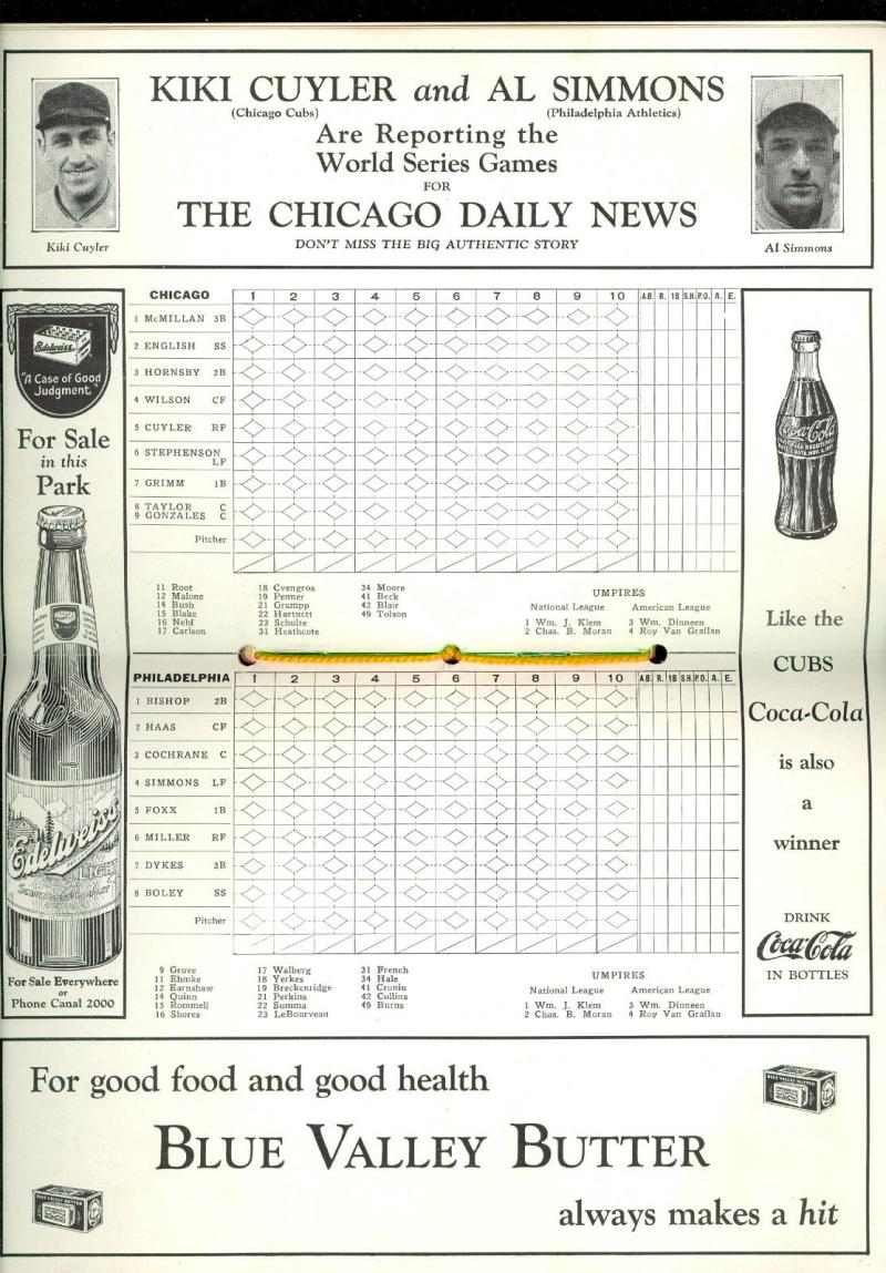 Cubs 1929 2