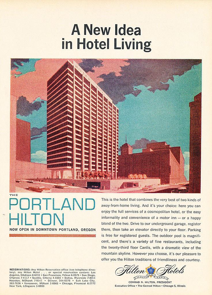 Hilton portland