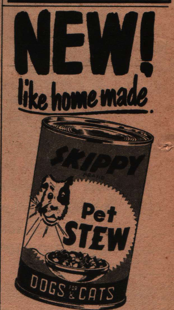 CHOICE FOR DOGS IN THE FIFTIES
