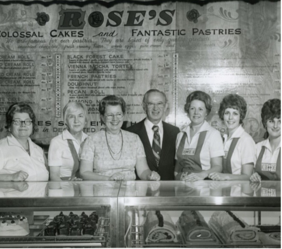 THE BRAINS BEHIND ROSE'S
