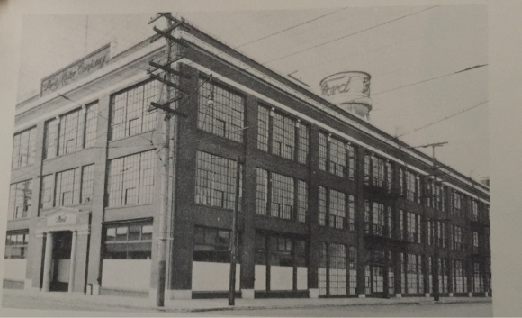FORD MOTOR PLANT ON SE 12th & DIVISION