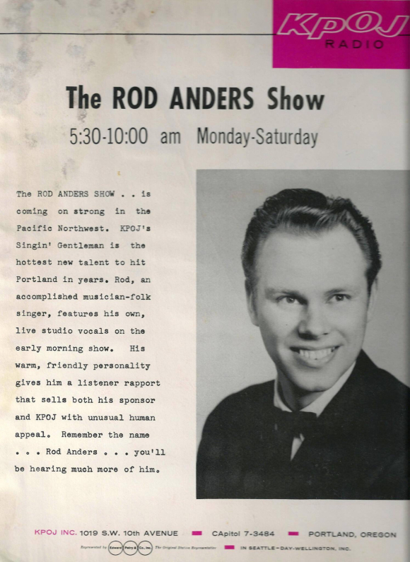 WHEN RAMBLIN ROD WAS A DJ