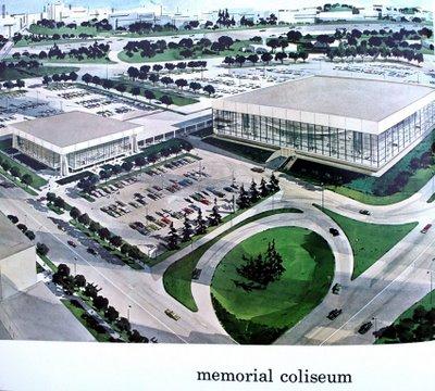 Memorial Coliseum Portland Oregon