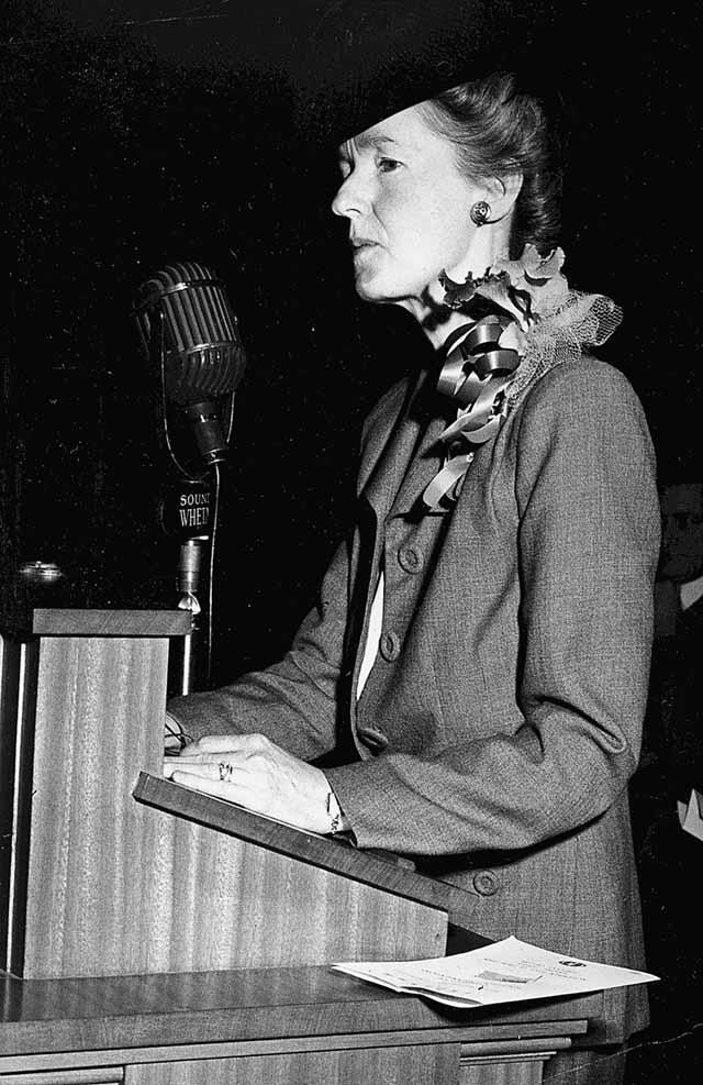 Dorothy mayor