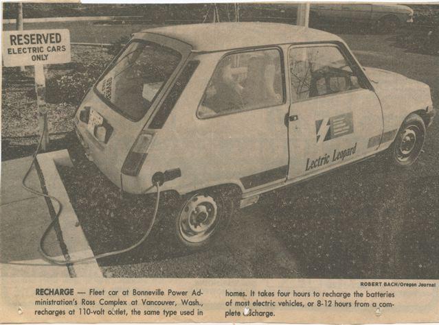 Elec car 1986