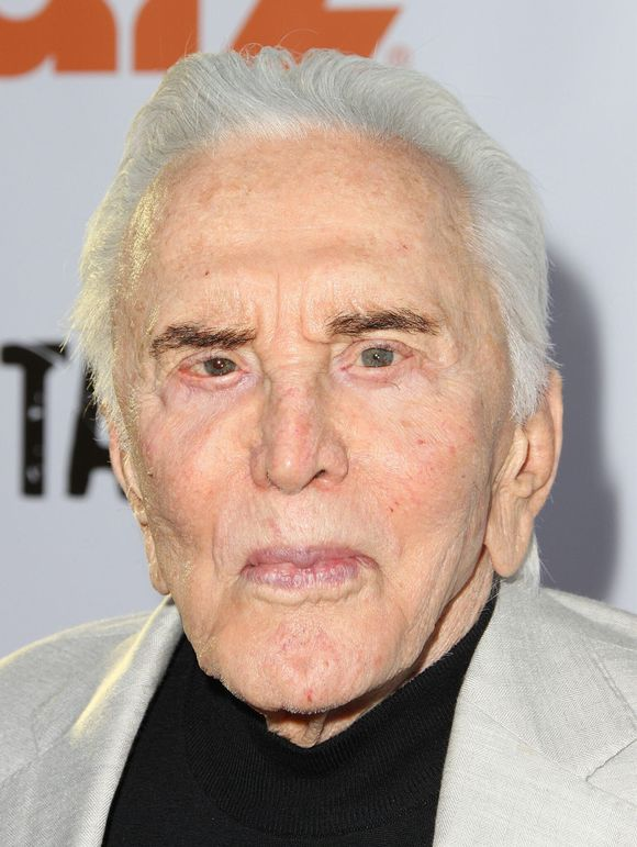 KIRK DOUGLAS BLOWS OUT 98 CANDLES TODAY