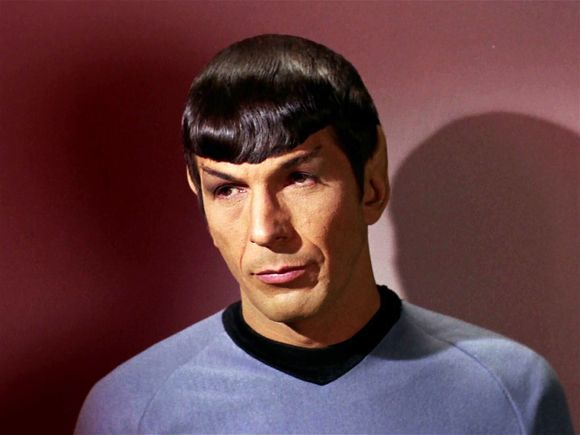 SPOCK HAS MOVED ON TO A NEW UNIVERSE