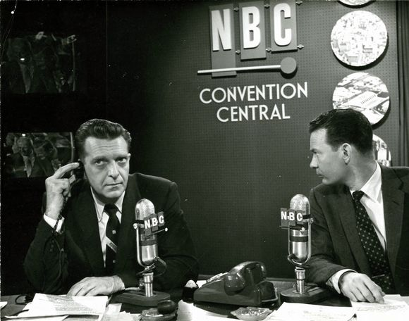 CHET HUNTLEY WORKED AT KGW RADIO IN THE 1930's