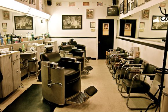 first time in a barber shop essay Barbershops were the stamp of masculinity and many a boy's first steps  2016: welcome to handsome fellows barber shop we aren't  for the next time i.