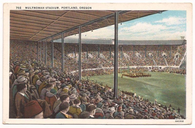 Mult stadium postcard