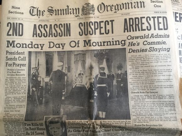 INTERESTING HEADLINE NOV 24, 1963