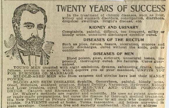 ADS IN OREGONIAN (1900)