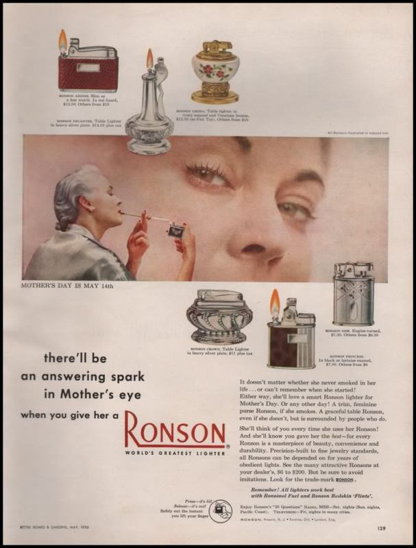 Mothers day ronson