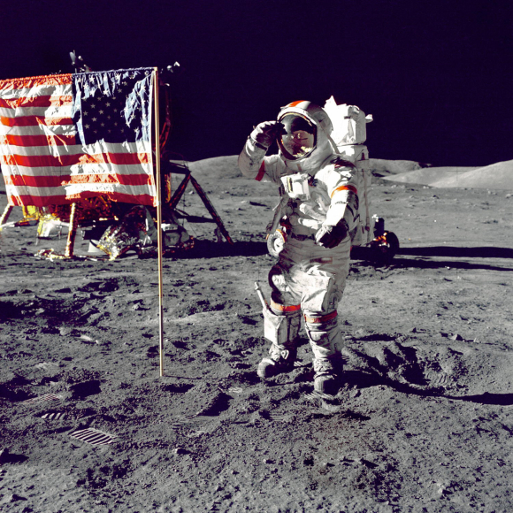 KENNEDY'S DREAM.... WE WALKED ON THE MOON ( this day in 69)